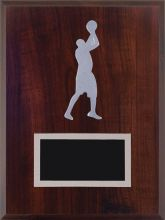 Basketball Silver Relief